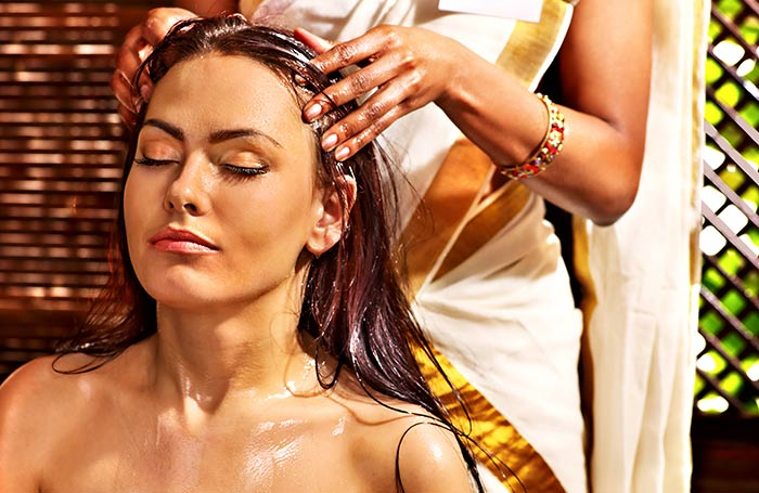 Aceite de masaje caliente