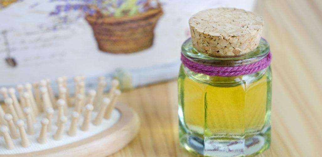 Aceite de ricino para el tratamiento de caspa