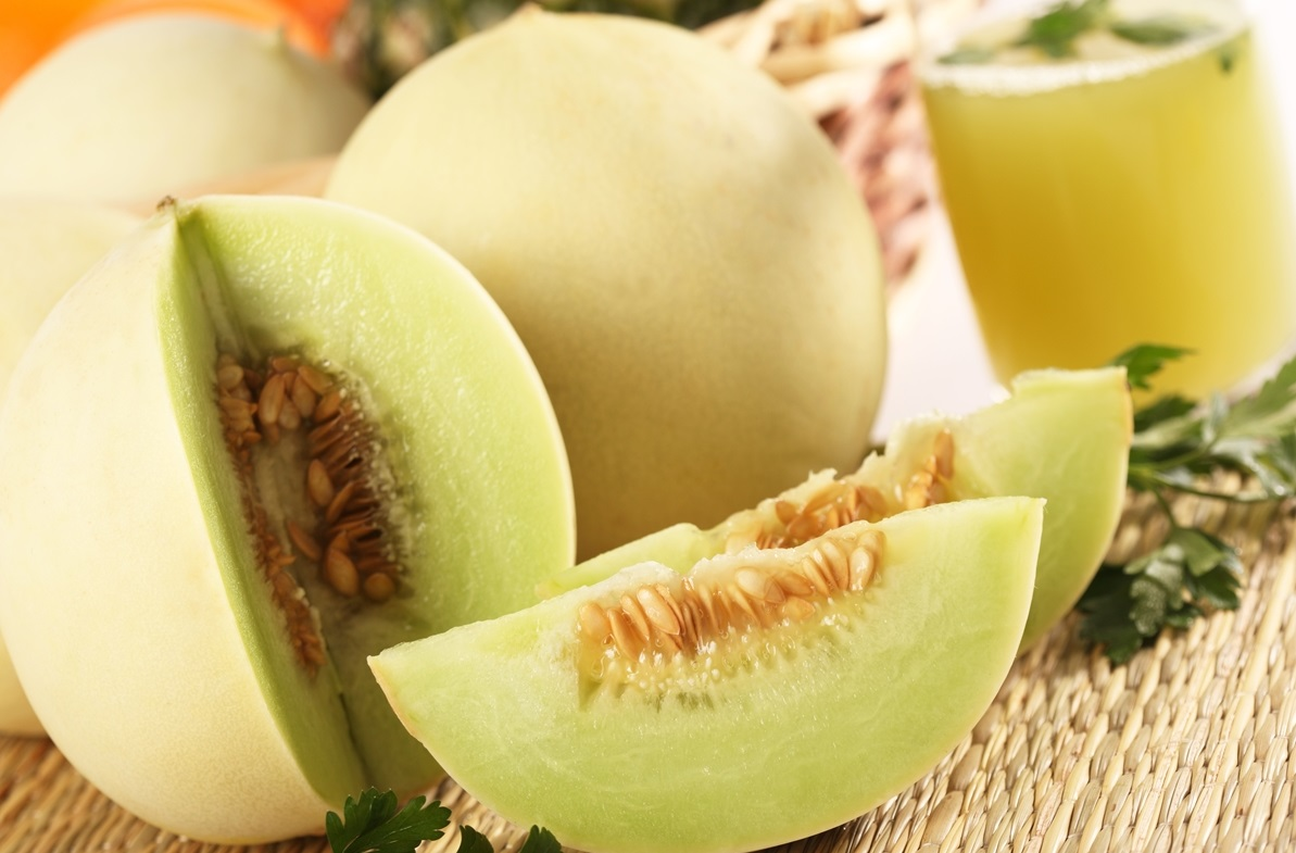 Beneficios para salud del melón Honeydew