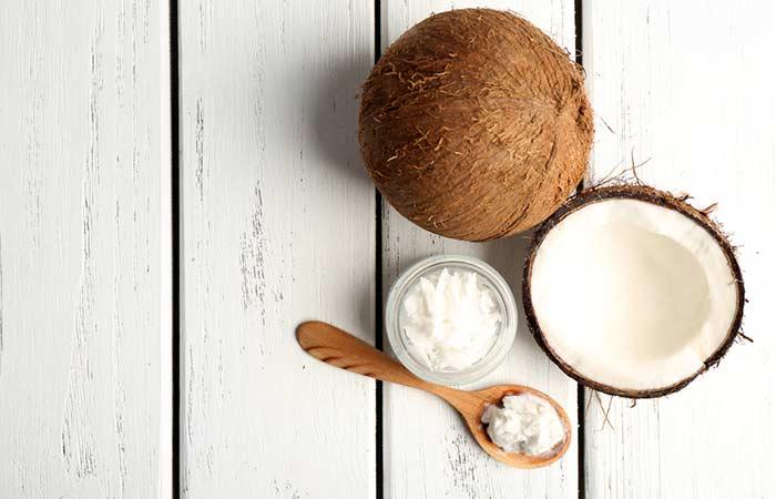 El aceite de coco y vitamina E