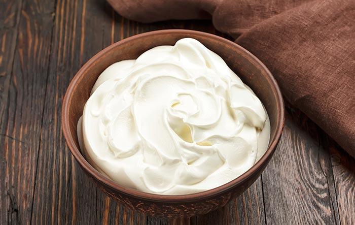 El yogur y la levadura