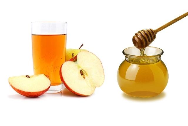 La Miel Y vinagre de manzana
