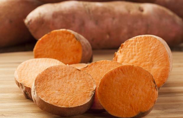 Las patatas dulces