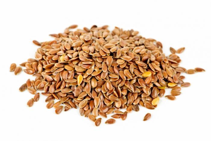 Las semillas de lino