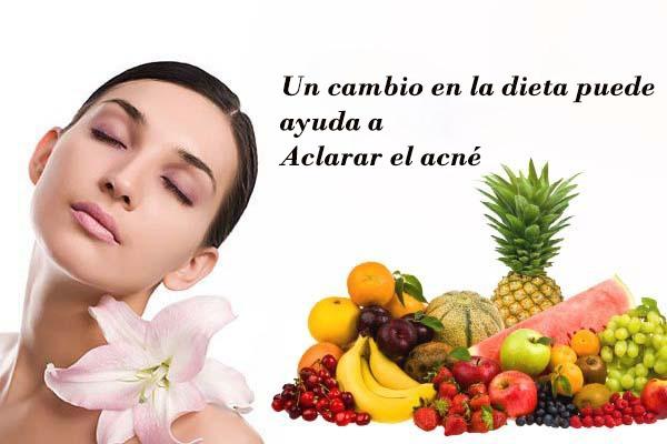 Plan de dieta milagrosa del acné