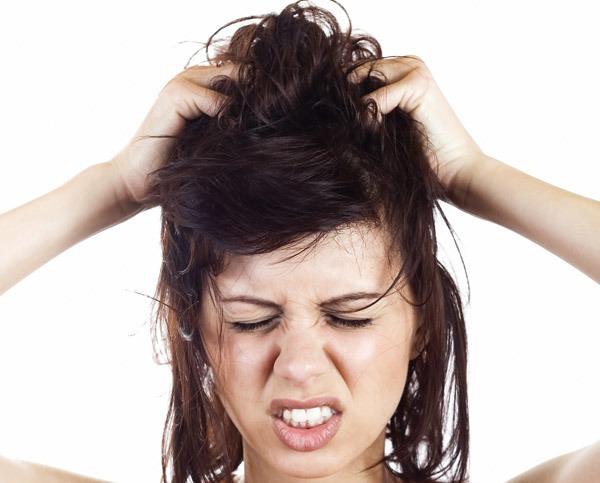 picazón del cuero cabelludo