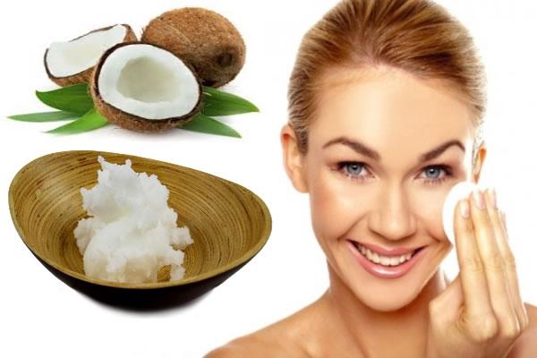 Aceite de coco para la cara y piel