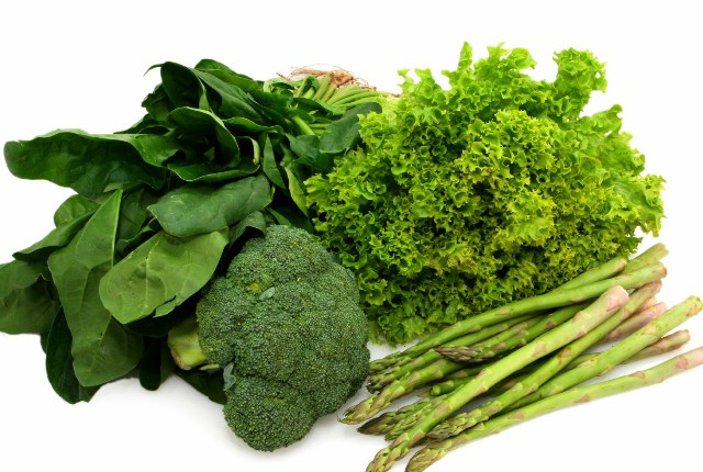 Escoja verde hortalizas de hoja