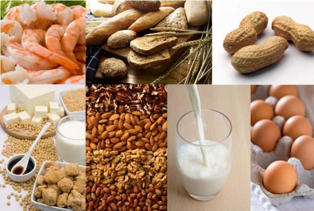 Evitar la alergia alimentos que causan