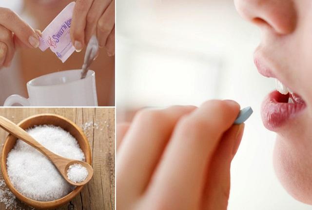 Evitar los alimentos con azúcar alcohol