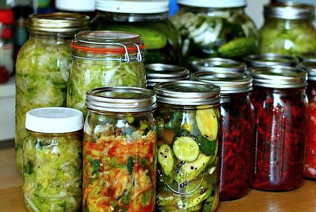 Las verduras fermentadas