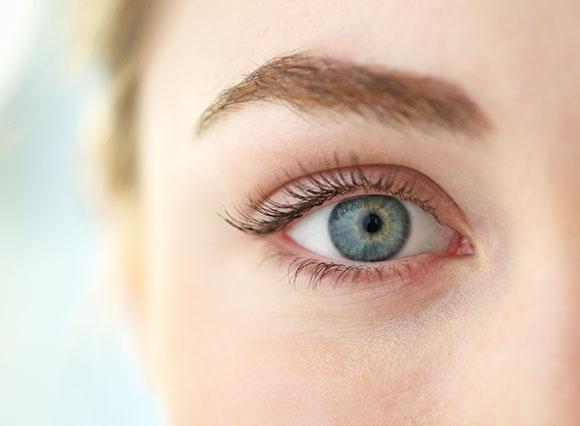 Ojos flotante