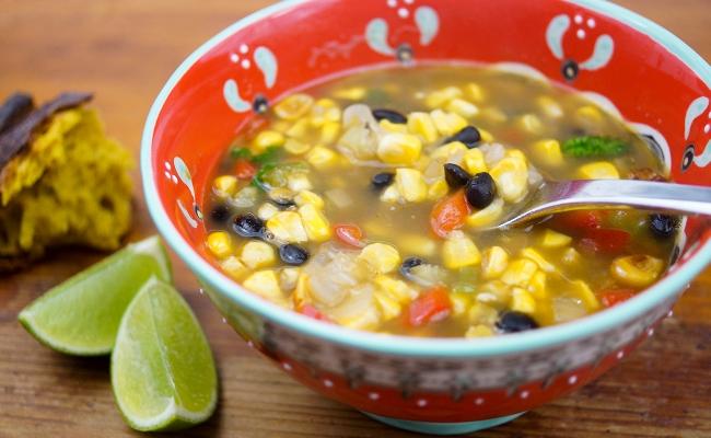fortalecer el sistema inmunológico sopa de maíz