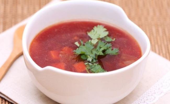 mineral rico sopa