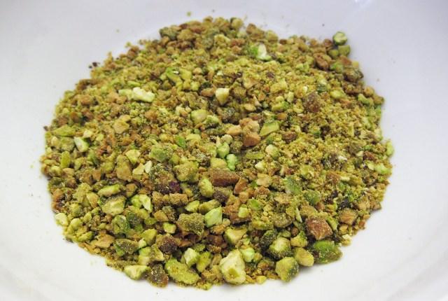 pistachos machacados