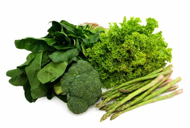 verde hortalizas de hoja