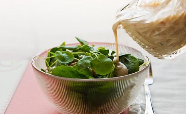 Aderezos para ensaladas sin grasa