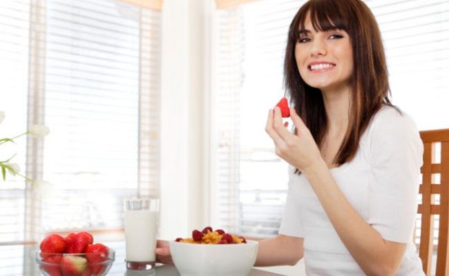 Comer alimentos diferentes
