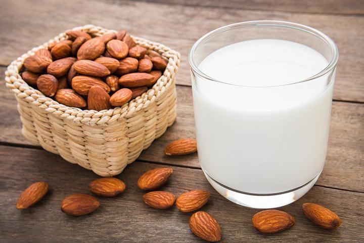 Efectos secundarios de la leche de almendra