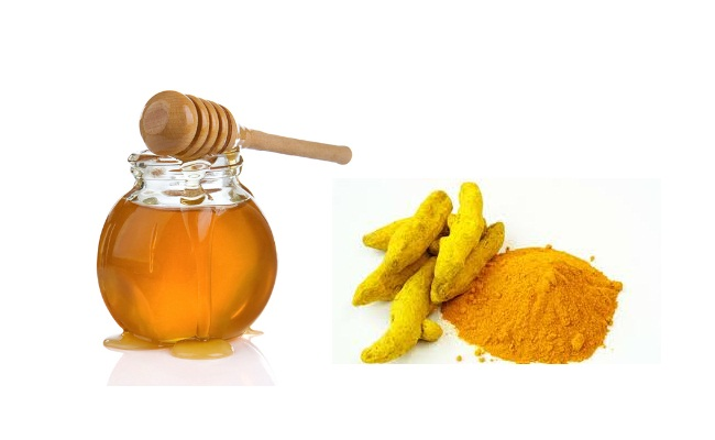 La cúrcuma con miel para el tratamiento del acné