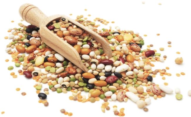 Las legumbres y frijoles