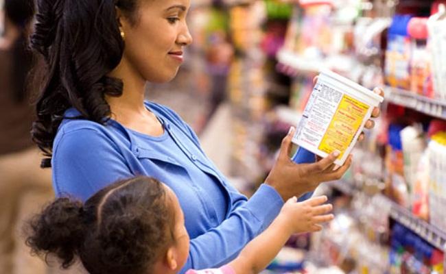 Lea las etiquetas de alimentos