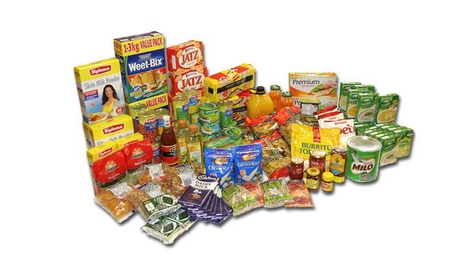 Los alimentos envasados