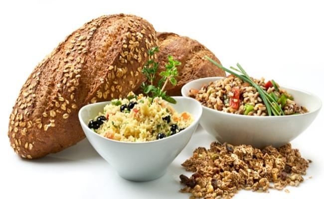 Múltiples grano alimentos