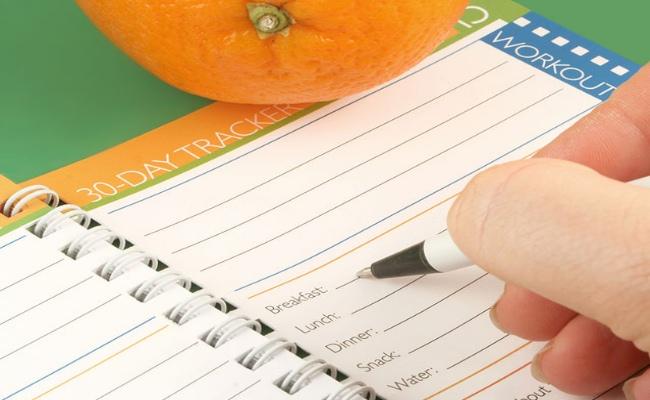 Mantener un Diario de alimentos
