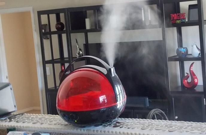 Mantenga el aire húmedo