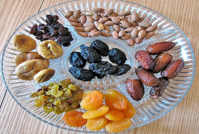 No vaya para las frutas secas