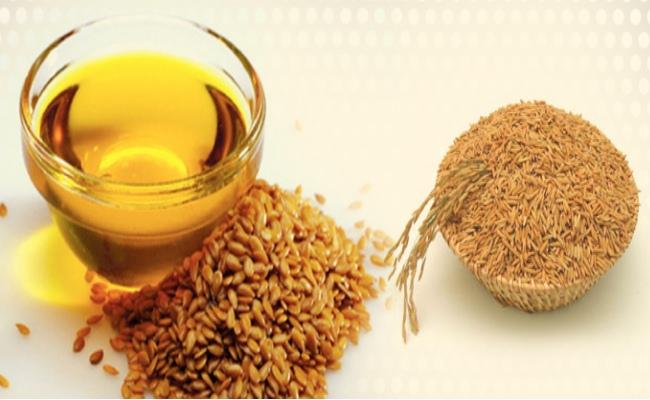 Salvado de arroz aceite