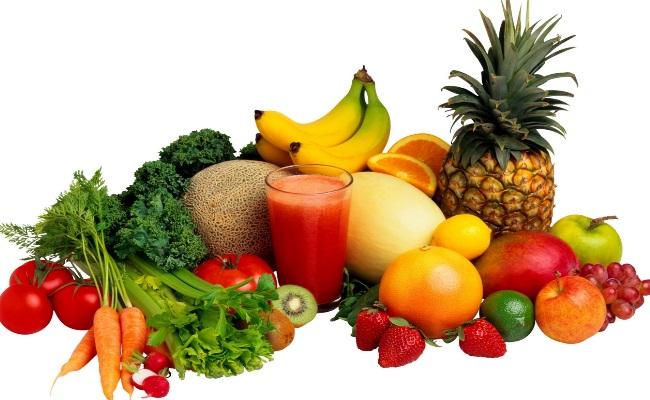 Todos los tipos de frutas