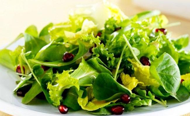Verdes de la ensalada
