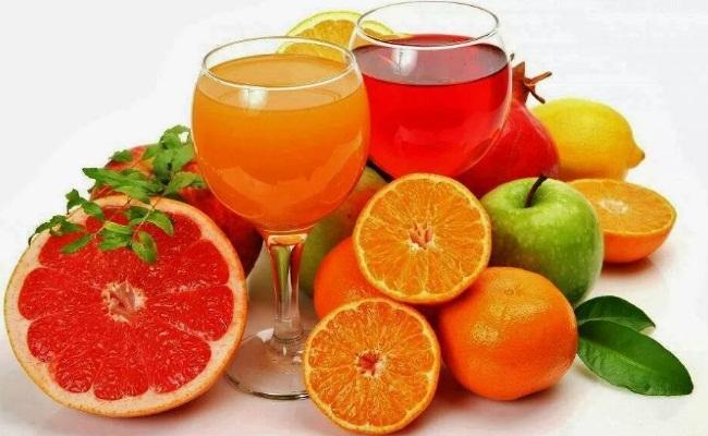 Zumos de fruta fresca