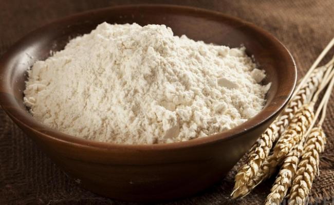 alimentos hechos con harina refinada