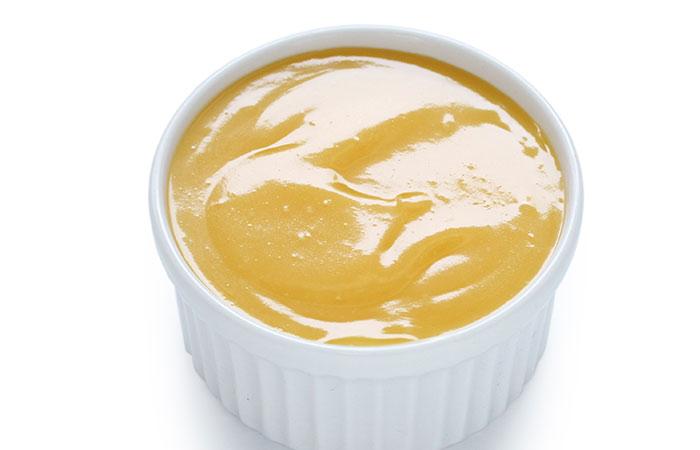 huevo, miel y yogur máscara de pelo