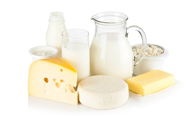 queso, yogur y leche