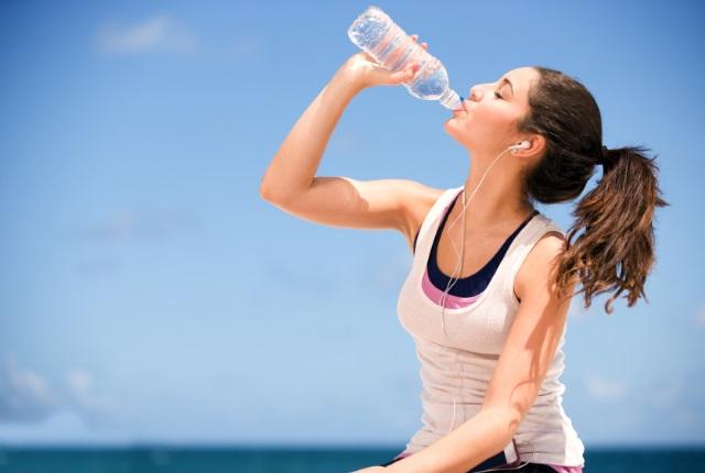 Beba más agua y más
