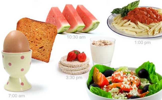 Comer 5-6 comidas pequeñas