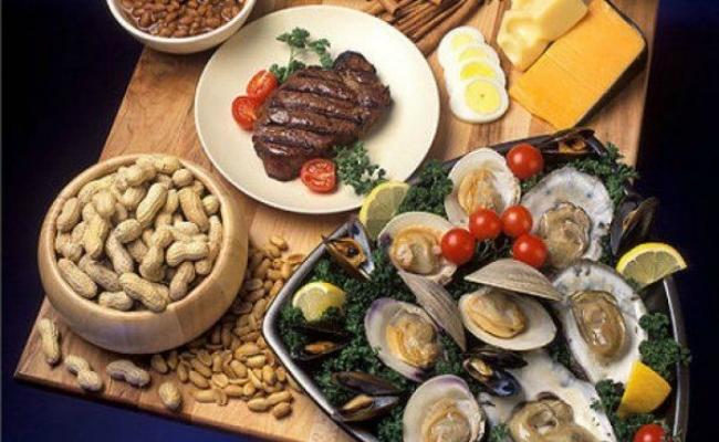 Comer alimentos ricos en zinc