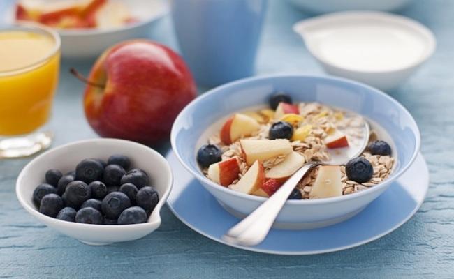 Comience el día con un desayuno saludable