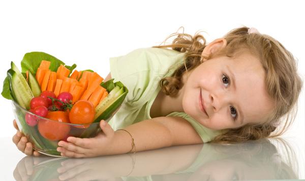 Consejos de dieta para los niños en crecimiento