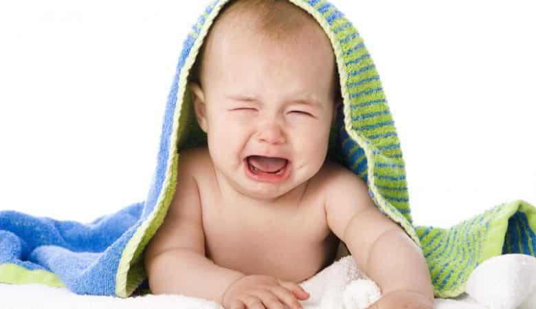 Erupción por calor del bebé