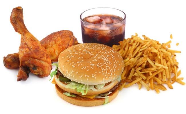 Evitar alimentos grasos