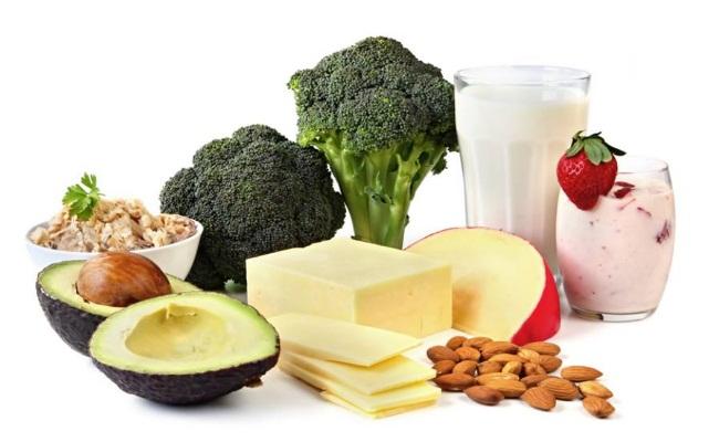 Tome alimentos ricos en calcio