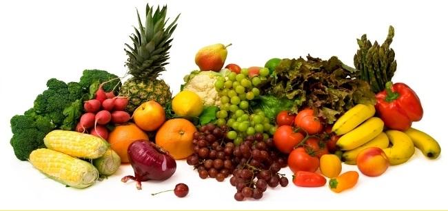 Incluir verduras y frutas en la dieta