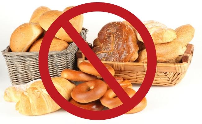 Manténgase alejado de carbohidratos refinados