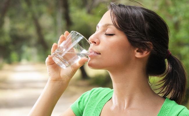 Toma de agua en las diferentes estaciones