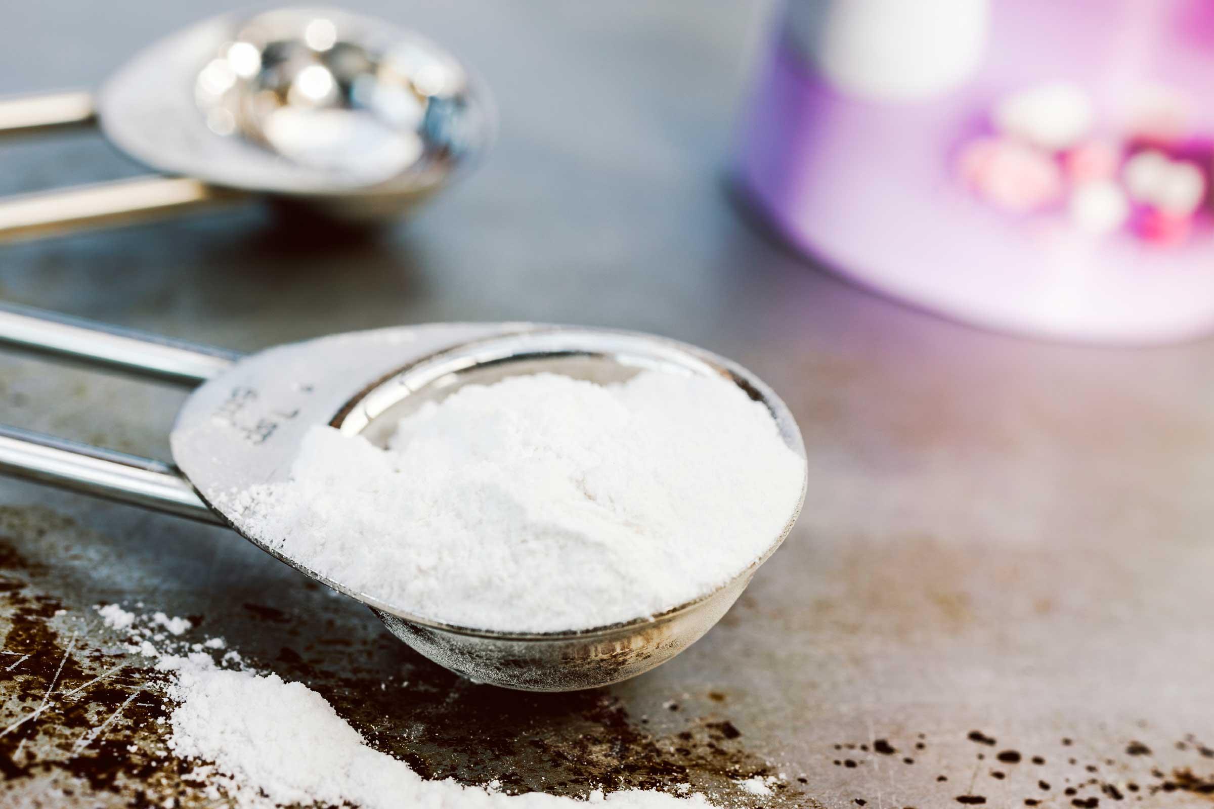 Tome una mezcla de bicarbonato de sodio
